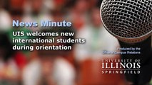 UIS welcomes new international students during orientation