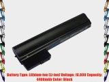 PowerSmart? 6 Cell 10.8V 4400mah battery for HP Mini 110-3730ep 110-3730nr 110-3730sp 110-3731cl