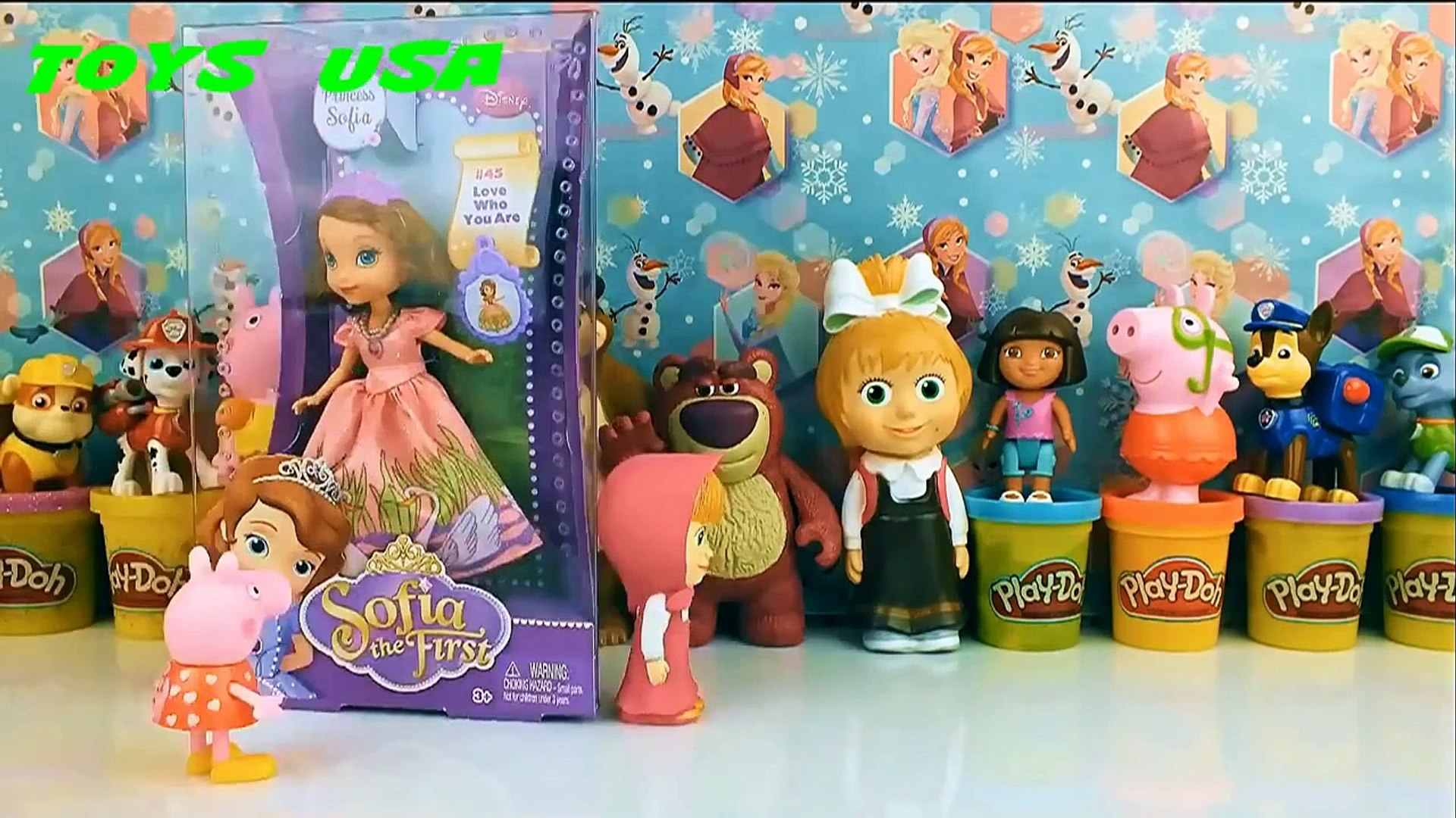 Sofia the First Princess Sofia Disney Junior София Прекрасная Принцесса София meet new friends peppa