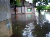 Inundacion en Villa Maipu, San Martin, Provincia de Buenos Aires
