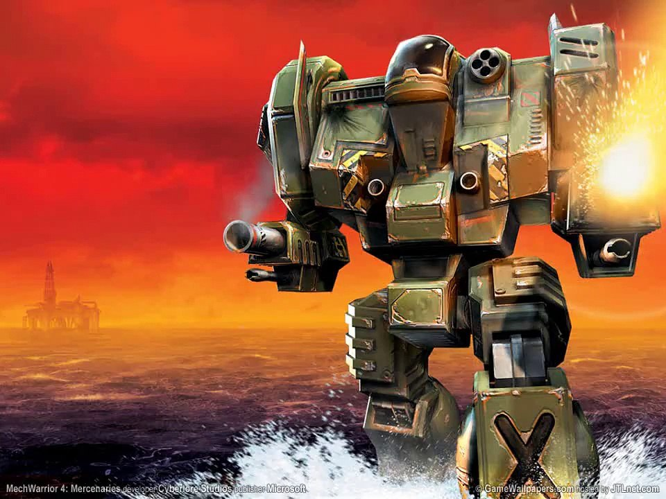 MechWarrior 4: Mercenaries Soundtrack - Hunter