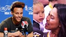 "Ayesha Curry Tells Riley ""Daddy's Gonna Win It All"""