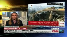 Twin blasts attacks in Damascus - carried out by an al Qaeda-linked militant group  [©CNN]