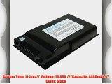 PowerSmart? 10.8V 4400mAh Li-ion Laptop Battery for FUJITSU LifeBook S2110 S6000 S6240 FUJITSU