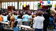 Fête du centre de loisirs du groupe scolaire La Roseraie/De Chambrun