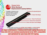 LB1 High Performance New Battery for Asus A32-K72 [4400mAh 10.8V 6Cells 48 wHr Black] Replacement