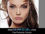 Angelina Jolie Face Change Complete Makeover Photoshop Tutorial Adobe Tricks