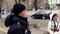 Cică nu-i voie să filmezi ambasada României - Curaj.TV