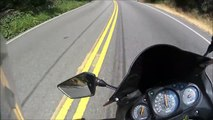 Kawasaki Ninja 250r - Topanga Canyon Uphill Run