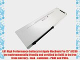 LB1 High Performance Battery for Apple MacBook Pro 15 A1286 (Unibody - Late 2008) for Apple
