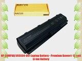 HP COMPAQ 593554-001 Laptop Battery - Premium Bavvo? 12-cell Li-ion Battery
