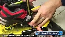 2012 Running Snowshoes & Racing Snowshoes Comparison Video by ORS Snow Shoes Direct