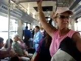 Día 59: Sobre un tren ligero, D.F. México (México)