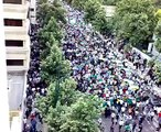 mass demonstration against Iranian government and Election fraud