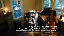 Rachel and Brianna Piano Recital 2015 - Why Can't You Understand - Original by Rachel and Brianna