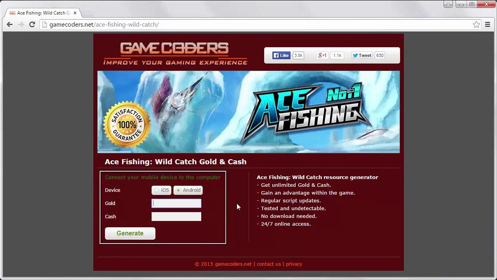 game ace fishing wild catch mod apk