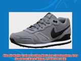 Nike Air Waffle Trainer Leather Men's Low-Top Sneakers Grey (Cool Grey/Black-White) 9.5 UK