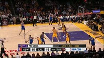Stephen Curry drains 9 three-pointers vs Lakers!