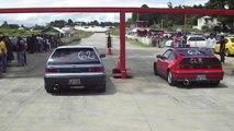 CRX vs Civic turbo