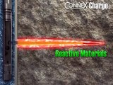 Reactive Shaped Charges