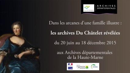 """Teasing - EXPOSITION """"Les Archives Du Châtelet révélées"""""""