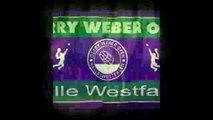 gerry weber open 2015 - Rosol v Monfils - roger federer (tennis player) - gerry weber