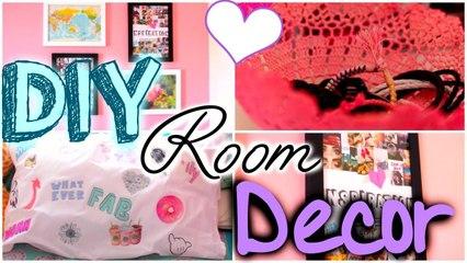DIY UNIQUE ROOM DECOR!!! EASY, CHEAP, CUTE!