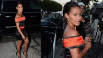 Jada Pinkett Smith Flaunts Her Figure While Out For Dinner