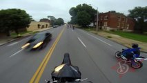 Motorcycles Riding WHEELIES Running From The POLICE CHASE Street BIKE VS COPS ROC 2014 Cop Chases 10