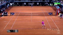 Rafael Nadal vs. Fabio Fognini Highlights 2015 Rio Open SF