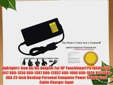 UpBright? New AC/DC Adapter For HP TouchSmart PC IQ506 600-1047 600-1350 600-1367 600-1205T