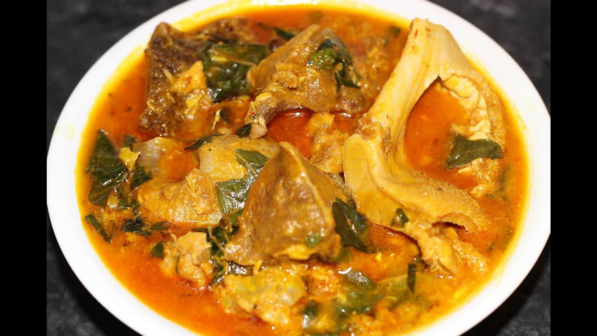 Oha soup | Nigerian food | Nigerian cuisine