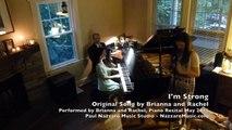 Brianna and Rachel Piano Recital 2015 - I'm Strong - ORIGINAL by Brianna and Rachel