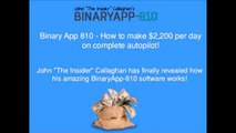 Binary App 810 Review | Honest Review About Insider John Binary App 810
