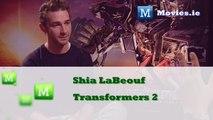 Shia LaBeouf star of TRANSFORMERS Dark Of The Moon