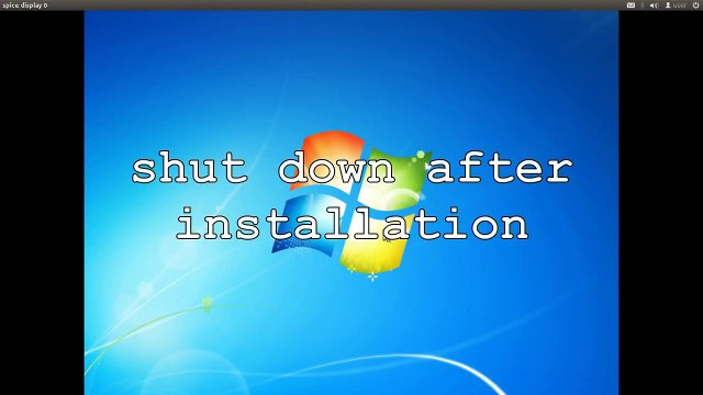 How to install Windows 7 under Ubuntu Linux 12.04 as virtual machine in KVM