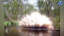 Il éclate un barrage de castor avec des explosifs ! - Le Rewind du Vendredi 19 juin 2015