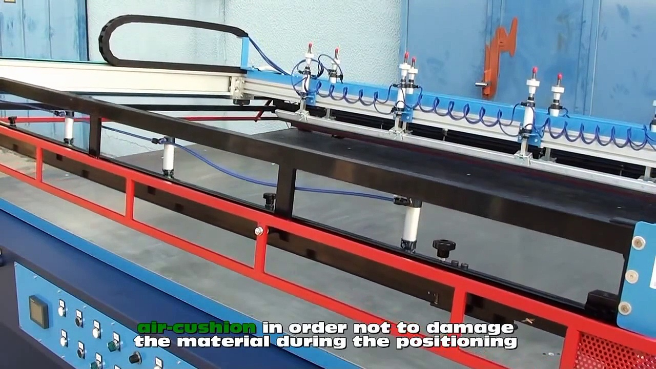 ECO MATIC GLASS – Semiautomatic Screen Printing Machine for Glass Sheets