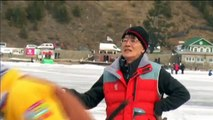 Baikal Ice Golf: 11th Baikal Ice Golf Tournament took place recently on the surface of frozen Lake