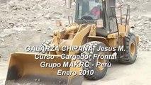 PRACTICAS MANEJO DE CARGADOR FRONTAL