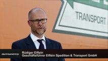 Daimler Trucks Lang-Lkw im Feldversuch - Interviews Rüdiger Elflein Geschäftsführer Elflein Spedition & Transport GmbH
