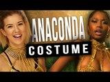 EASY DIY Nicki Minaj Anaconda Halloween Costume