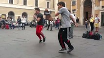 Hip Hop Street Dance   Acrobatic Music Dancers