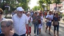 11 luglio 2014 Manifestazione contro l'abbattimento degli alberi del Gran Viale al Lido di Venezia