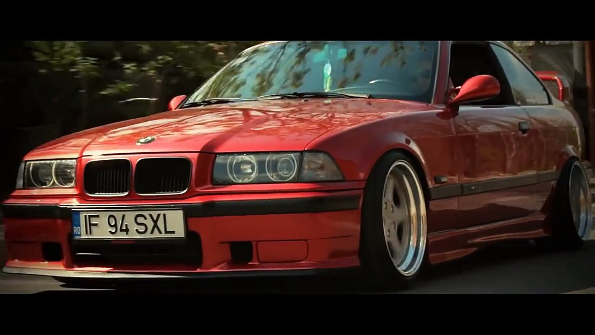 Bmw E36 Candy Apple Red On Ac Schintzer Type 1 Video Dailymotion