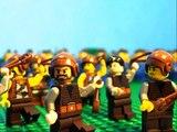 280 B.C. Lego Battle of Heraclea.  Pyrrhus of Epirus vs. Rome