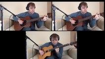 """Jolly Old St. Nicholas"" guitar fun"