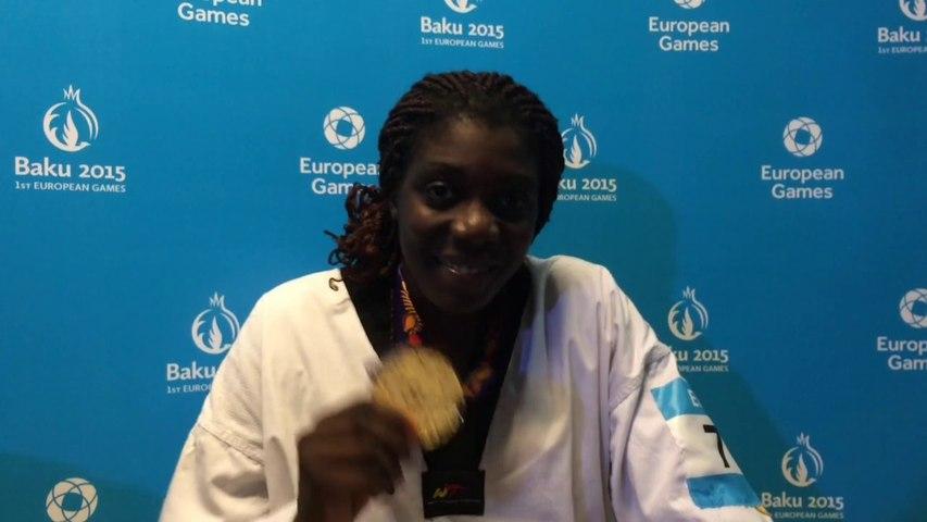 Gwladys Epangue - médaille d'or taekwondo +67kg