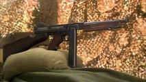 2e Guerre Mondiale - Le pistolet mitrailleur Thompson et le fusil M1 Garand