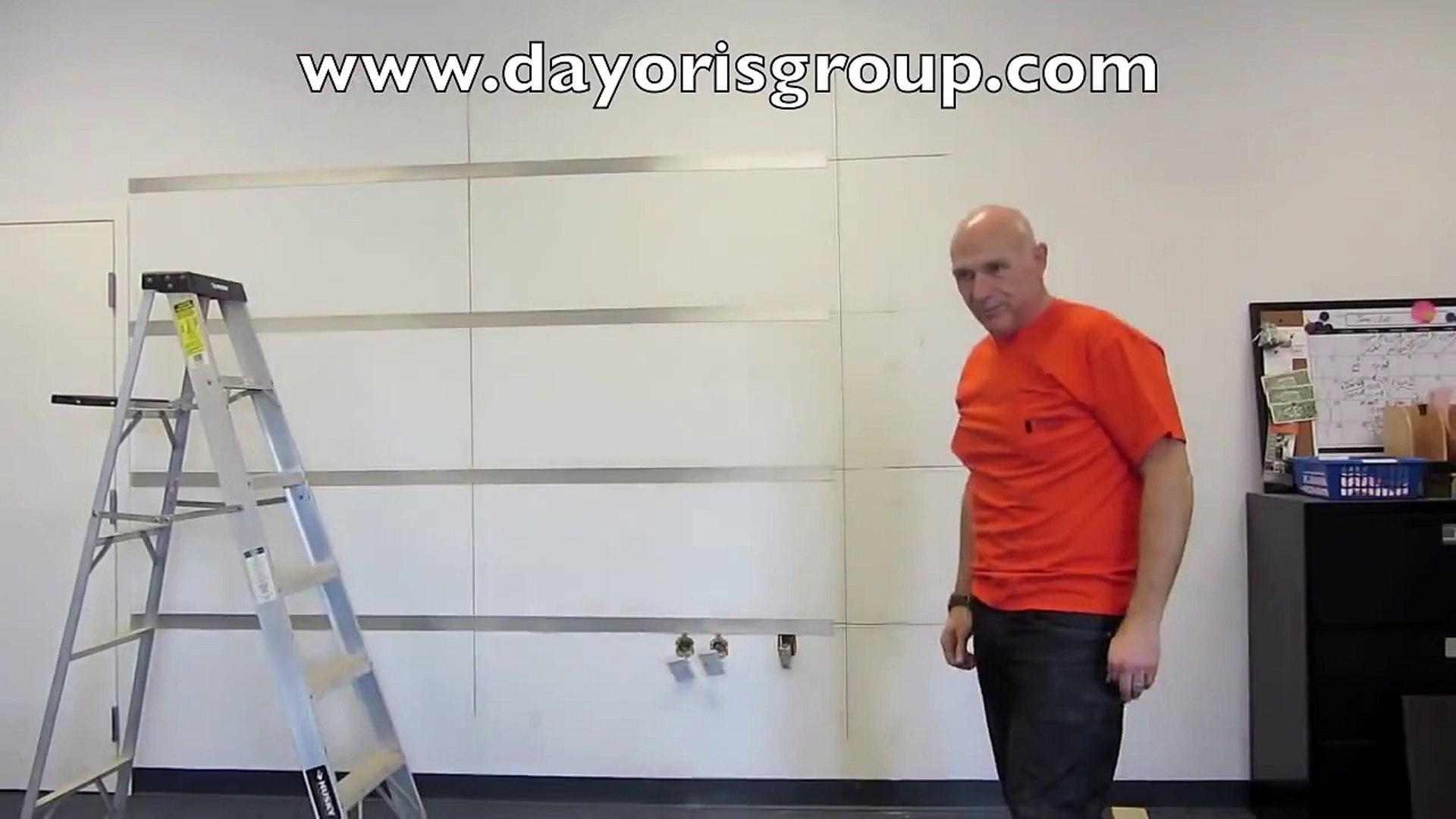 Modern Panels - Wall panel installation-DAYORIS Group